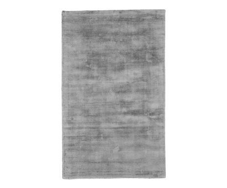 Covor din vascoza tesut manual Jane, 90 x 150 cm, gri 2021 chilipirul-zilei.ro