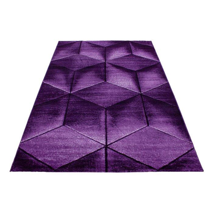 Covor Vikki, violet, 120 x 170 cm