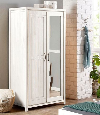 Dressing Home Affaire, lemn masiv, 2 usi, 190 x 94,5 cm
