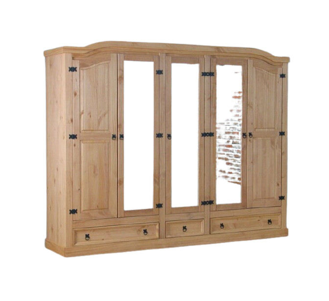 Dressing Myers, lemn masiv, 193 x 243 x 57 cm chilipirul-zilei.ro