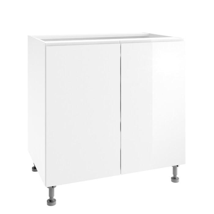 Dulap pentru chiuveta, alb, 60 x 82 x 53 cm poza chilipirul-zilei.ro