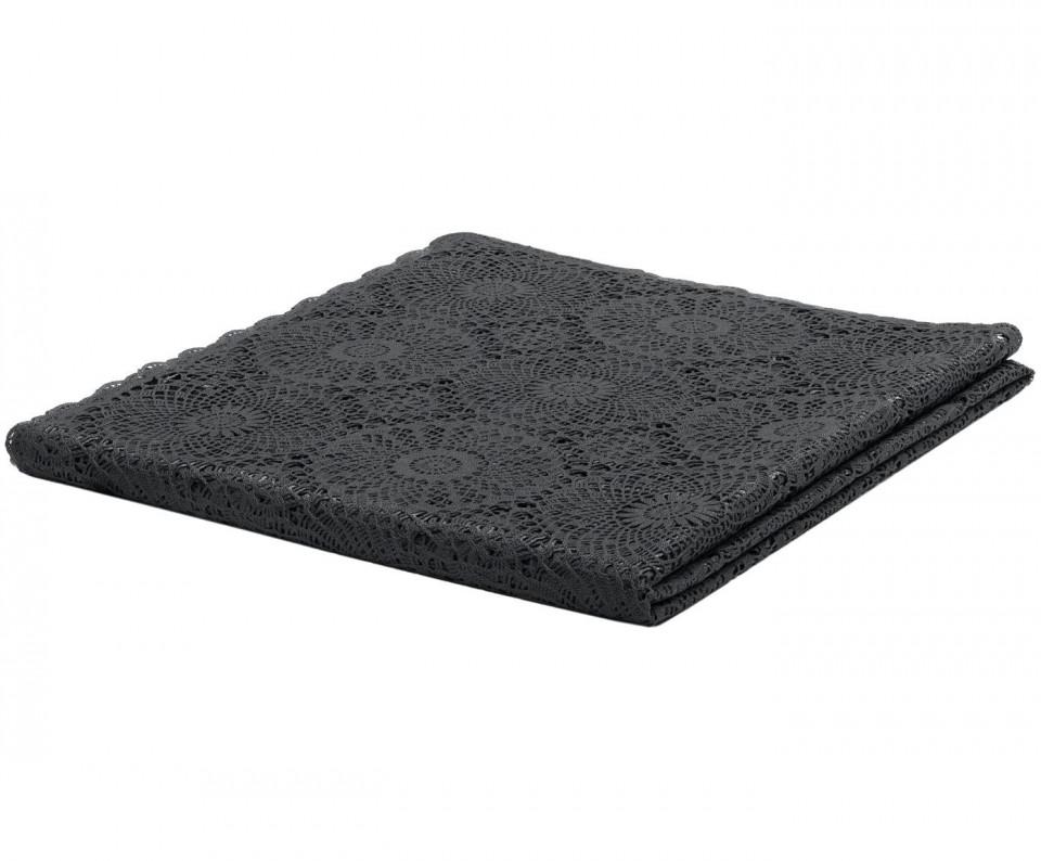 Față de masă Crochet, negru, 150x264cm imagine chilipirul-zilei.ro