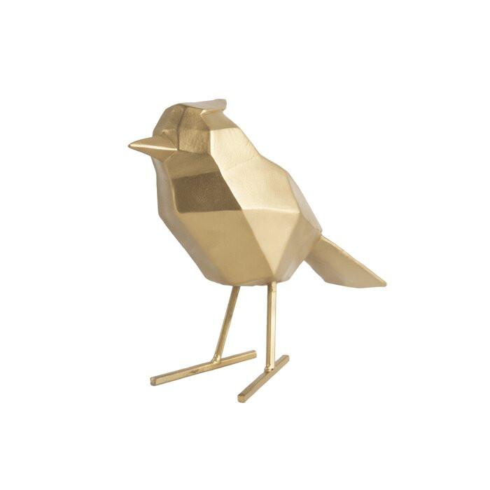 Figurina, polyresin, aurie, 13,5 x 7,5 x 17 cm