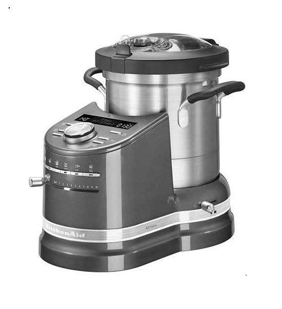 KitchenAid Artisan 5KCF0103BMS/1 Robot de bucatarie, argintiu imagine chilipirul-zilei.ro