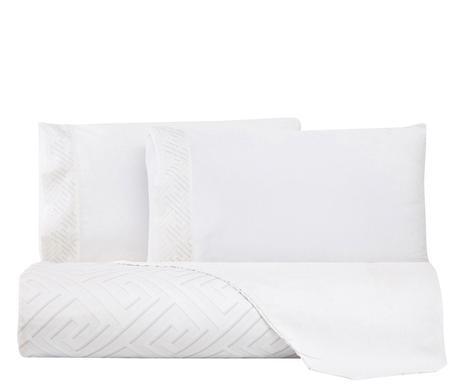 Lenjerie de pat cu husa pentru pilota Atina, matrimoniala chilipirul-zilei 2021