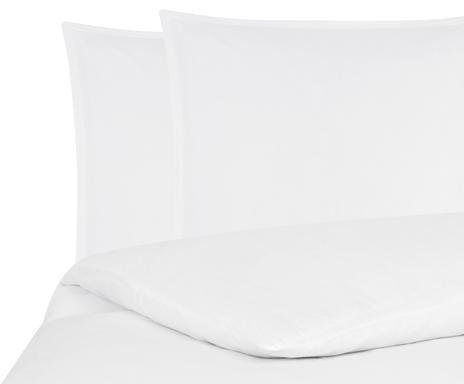 Lenjerie de pat Nature albă, 255x200 cm chilipirul-zilei.ro