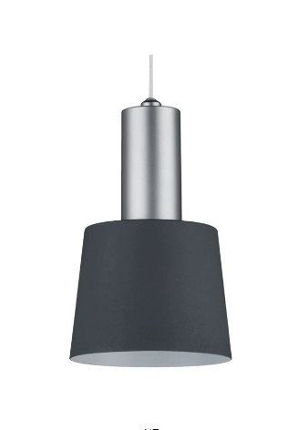 Lustra tip pendul Haldar I, metal, 129 x 12 cm