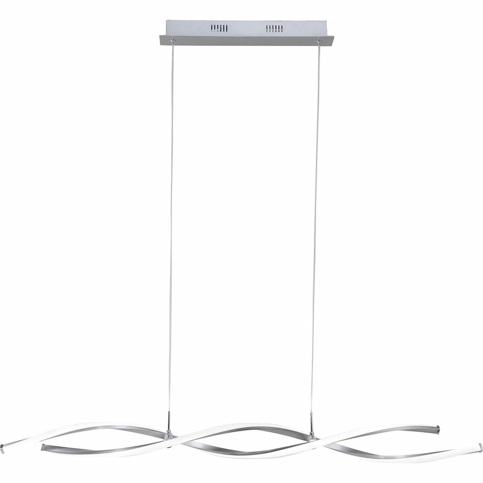 Lustra tip pendul Polina, LED, metal, 110 x 120 x 8 cm, 10w chilipirul-zilei.ro