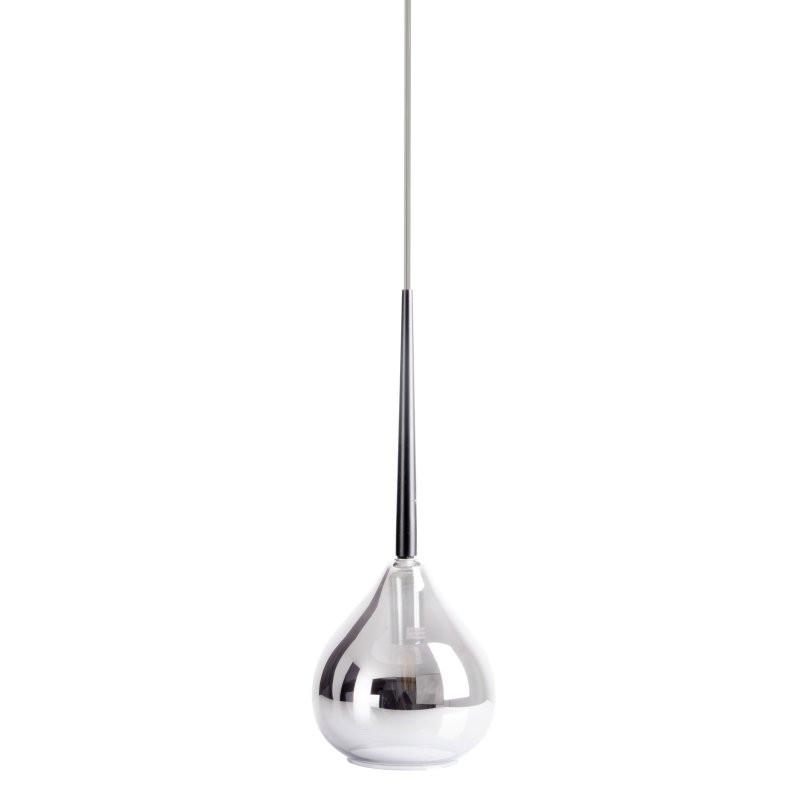 Lustra tip pendul Vaso I, metal/sticla, gri, 136 x 16 cm, 40w imagine 2021 chilipirul zilei