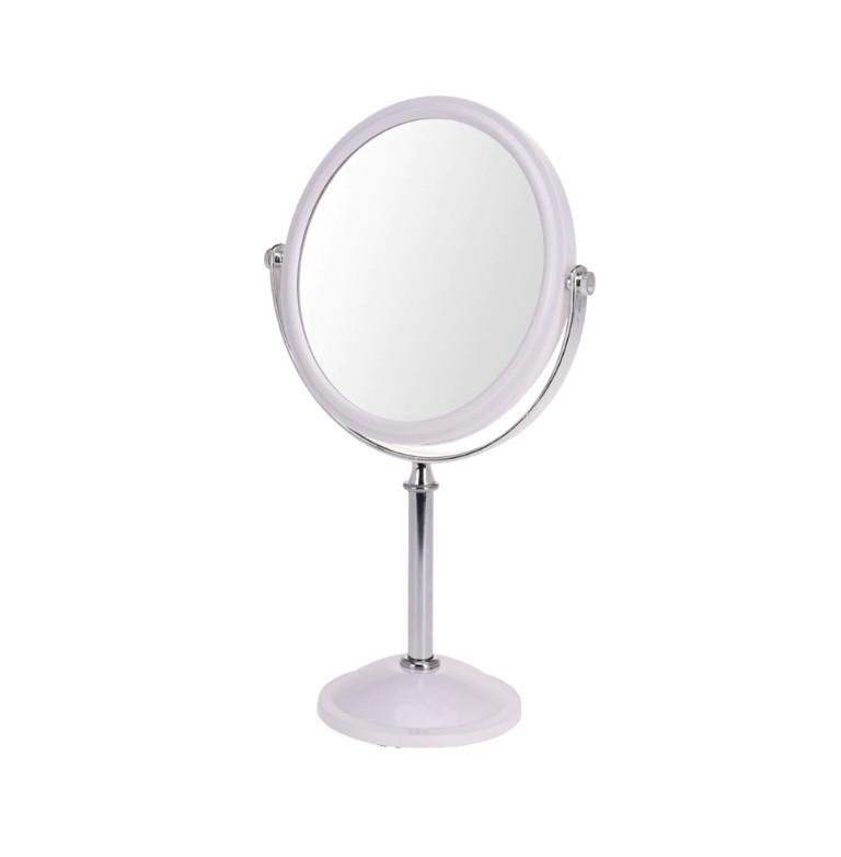 Oglinda Karll cu picior, doua fete, rama plastic poza chilipirul-zilei.ro