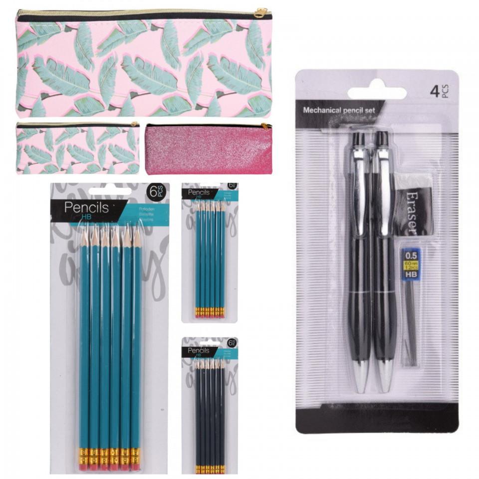 Pachet scoala Karll 2 creioane mecanice, set 12 creioane HD, penar 205 x 80 mm imagine chilipirul-zilei.ro