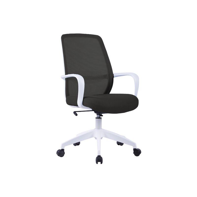 Scaun de birou Tuscola, alb, 59 x 63 x 96cm