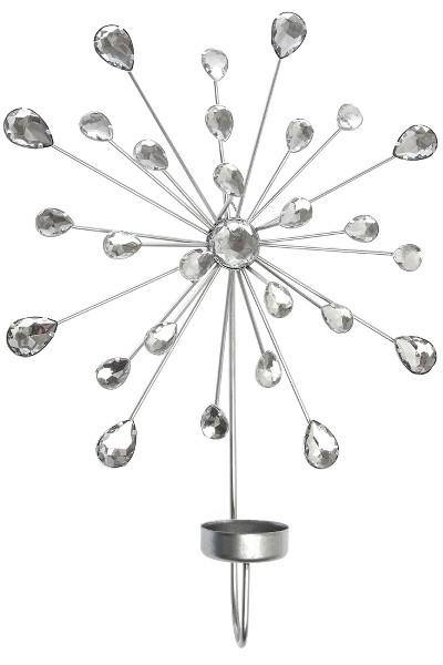 Set de 4 suporturi pentru lumanari Sabana, plastic, 24 x 31 x 6 cm imagine chilipirul-zilei.ro