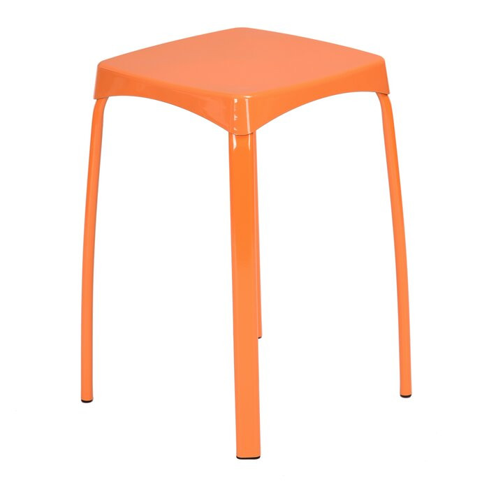 Set de 6 scaune Edmondson, portocalii, 45,5 x 32 x 32 cm chilipirul-zilei 2021