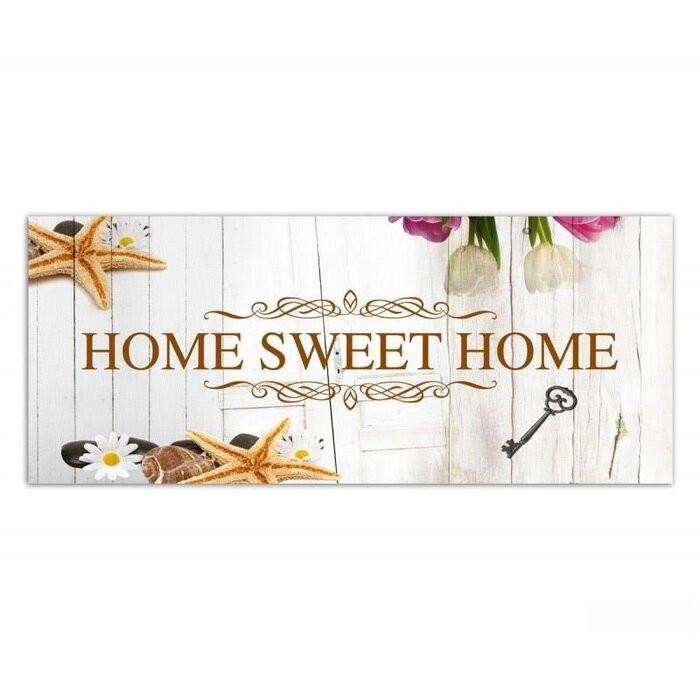 """Tablou """"Home Sweet Home"""", 140 x 45 cm poza chilipirul-zilei.ro"""