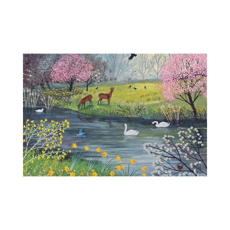 Tablou By Spring River by Jo Grundy, 45 x 66 cm