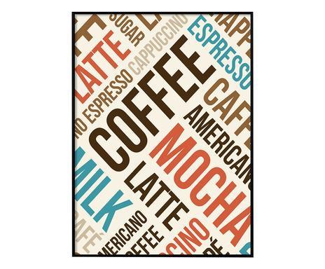 Tablou Coffe, 50x70 cm
