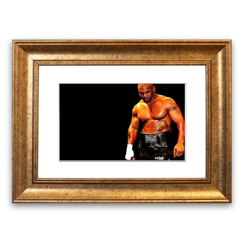 Tablou 'Mike Tyson Champion Cornwall', 70 x 93 cm