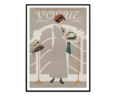 Tablou Vogue Retro II, 30 x 40 cm