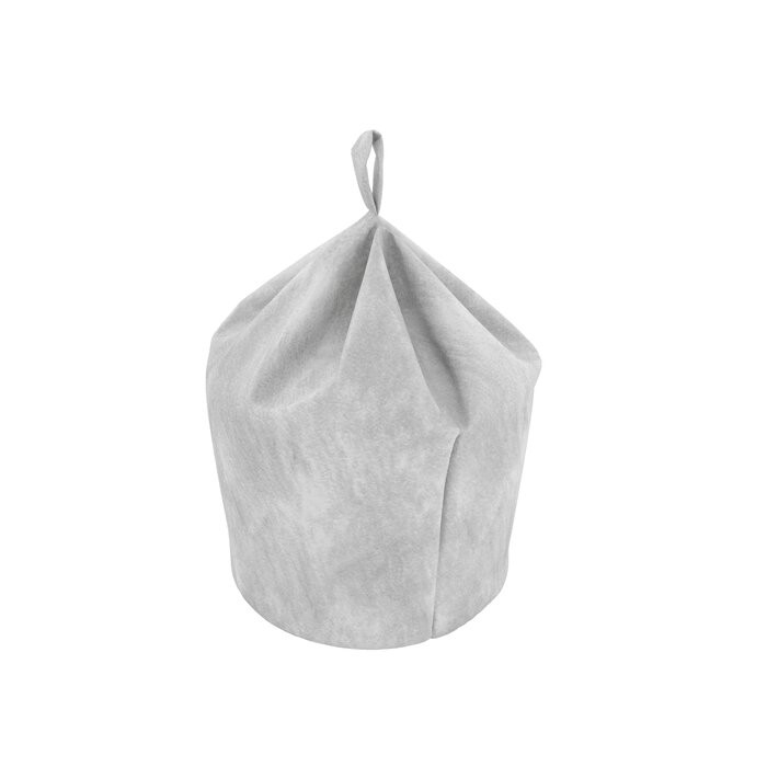 Taburet Pear, argintiu, 80 x 50 x 50 cm