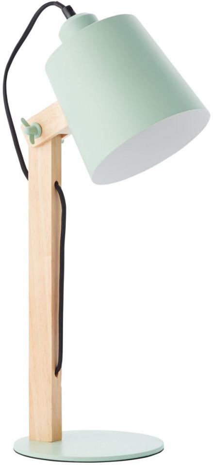Veioza pivotanta, maro/verde, 16 x 52 x 22 cm, 30w imagine 2021 chilipirul zilei