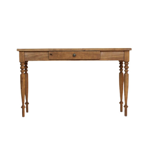 Birou Wilton, lemn masiv, maro, 77 x 130 x 35 cm chilipirul-zilei 2021