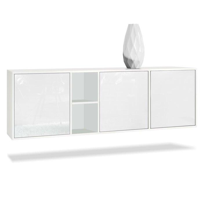 Buffet Cuba, MDF, alb, 53 x 182 x 35 cm chilipirul-zilei 2021