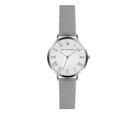 Ceas de mână damă Emily Westwood , argintiu