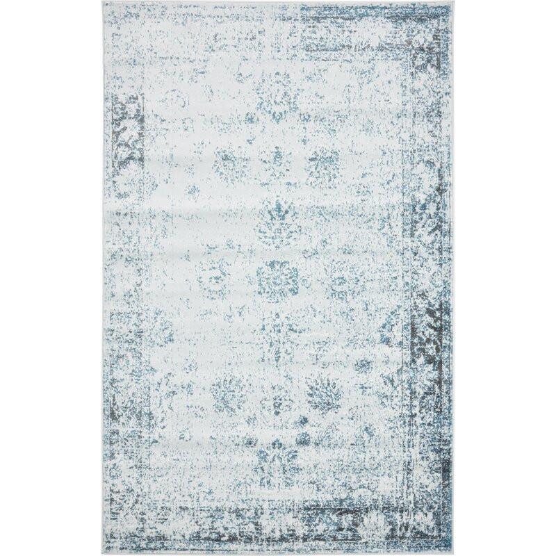Covor Brandt Blue 153 x 244 cm poza chilipirul-zilei.ro