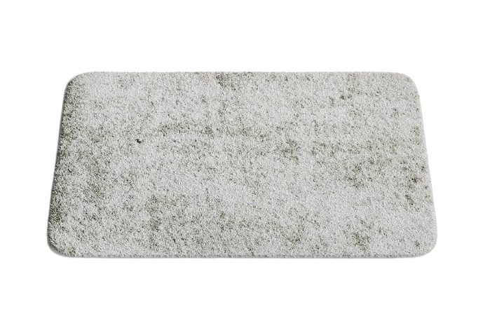Covor de baie Gile, gri, 50 x 80 cm 2021 chilipirul-zilei.ro