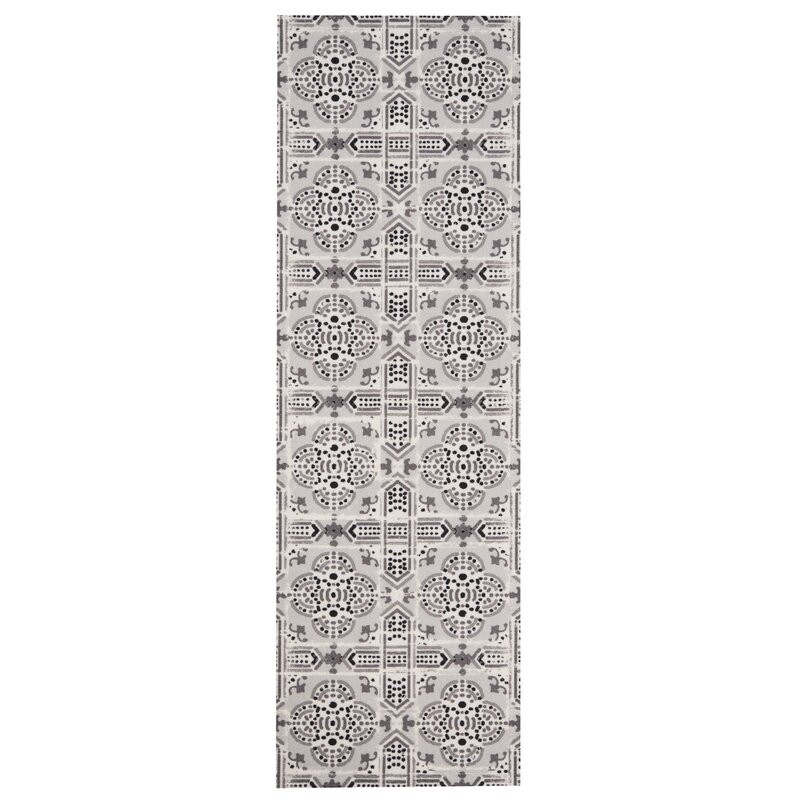 Covor Tile Gri 45 x 140cm