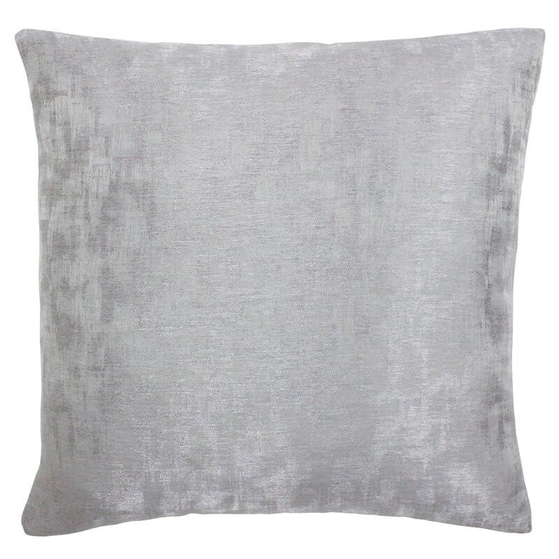 Fata de perna Byrd, argintiu, 45 x 45 cm
