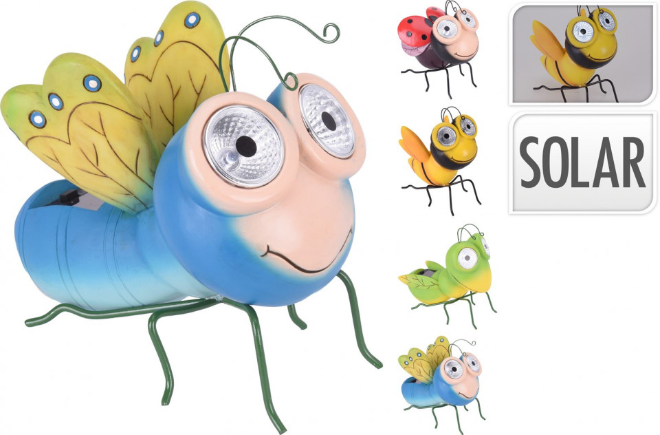 Insecta Karll cu lumina solara chilipirul-zilei.ro