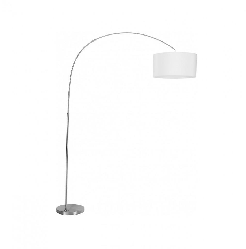 Lampadar Niels, metal, alb/crom, 157 x 218 x 50 cm