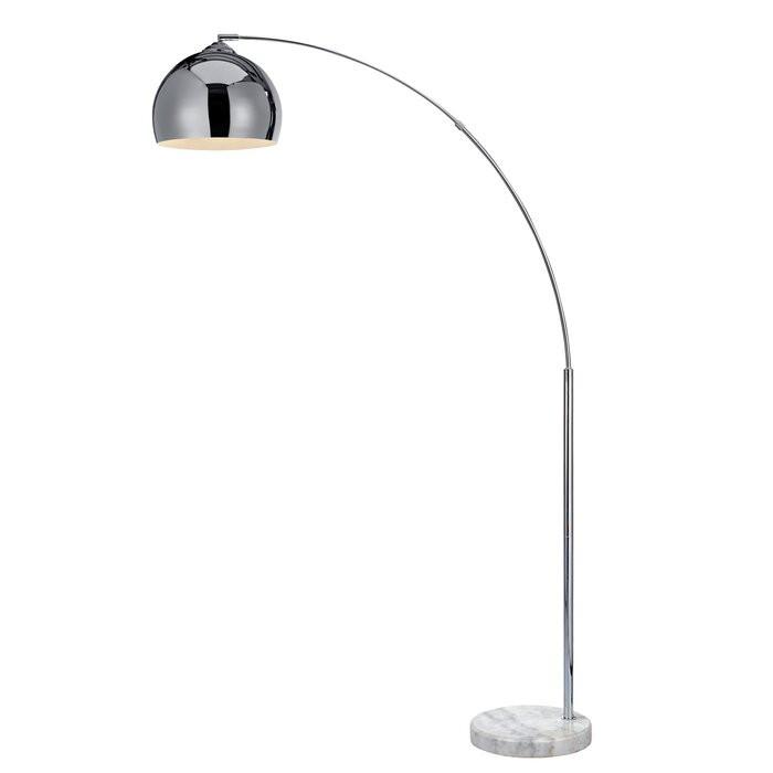 Lampadar Scout, metal/plastic, crom, 174 x 110 x 31 cm image0