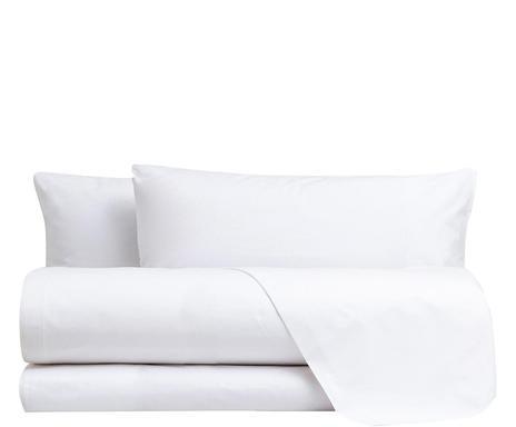 Lenjerie de pat in stil italian Chic bianco, 160 x 200