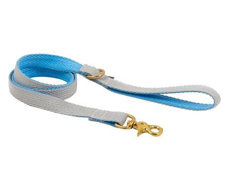 Lesă gri / albastră Pure, 120cm