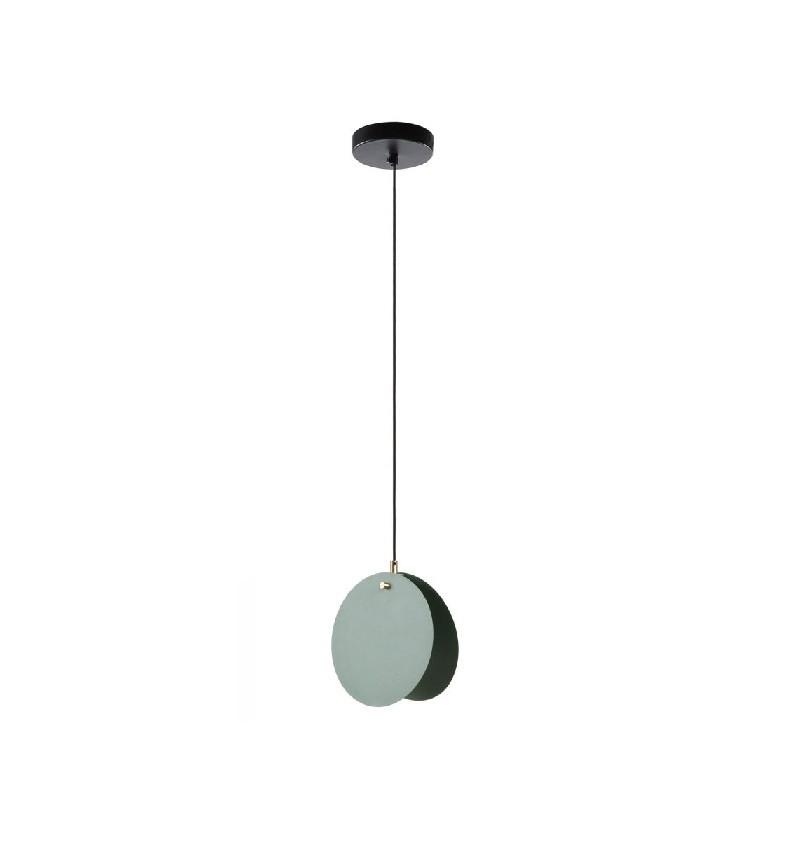 Lustra tip pendul Monica, metal, neagra, 26 x 28 x 8 cm