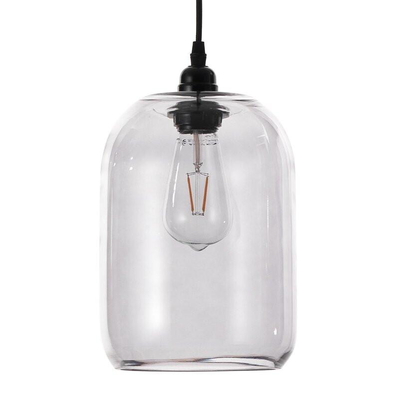 Lustra tip pendul Norwood, din sticla, 25 x 18 cm chilipirul-zilei.ro