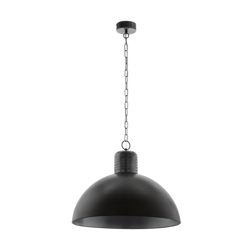 Lustră tip pendul Roemer, metal, negru, 30cm H x 65cm W x 65cm D imagine