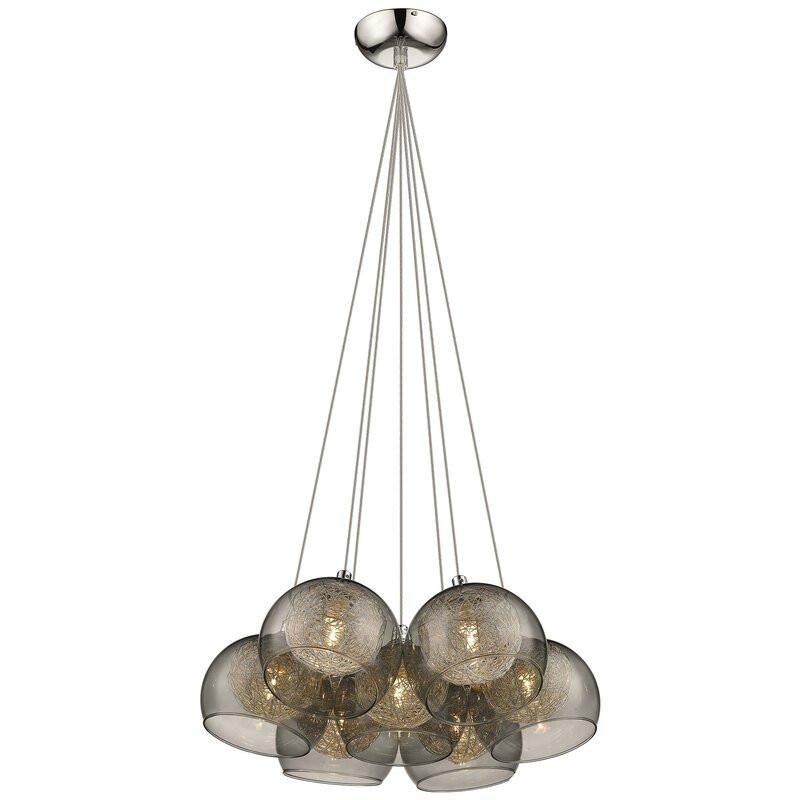 Lustra Theodore cu 7 lumini, 150 x 40 cm