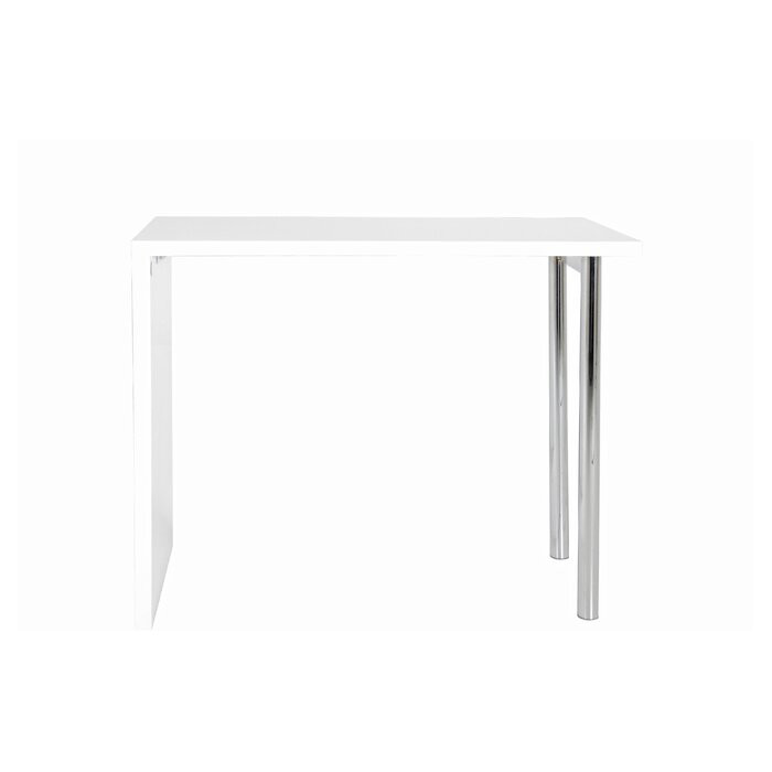 Masa Budgie, MDF, alba, 120 x 60 x 105 cm chilipirul-zilei.ro