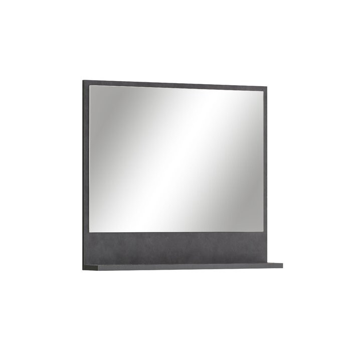 Oglinda de baie Belisma, gri, 60 x 54 x 11 cm imagine 2021 chilipirul zilei