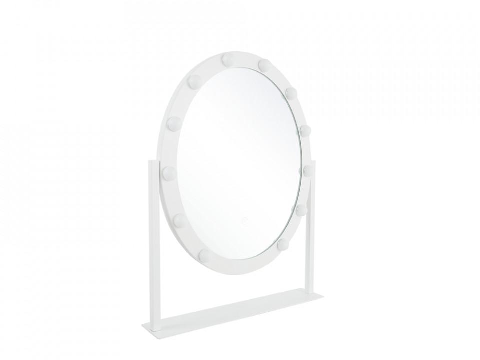 Oglindă verticală Rostrenen, LED, alb, 60 x 50 x 3 cm chilipirul-zilei.ro