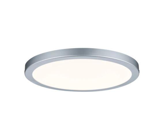 Plafoniera LED Panel II silicon, argintiu, 1 bec, diametru 30 cm, 230 V