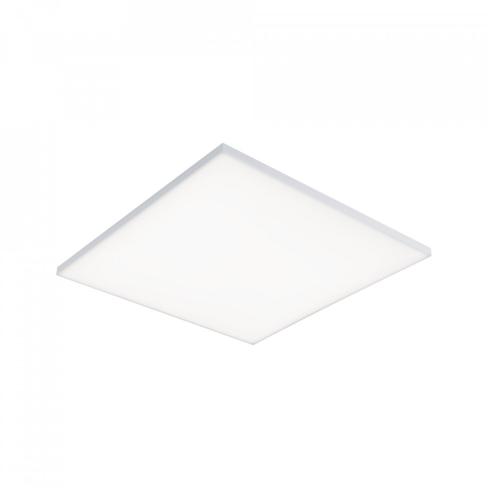 Plafoniera Velora VIII, metal/sticla, alb, 60 x 5 x 60 cm, 37w chilipirul-zilei.ro