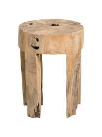 Scaun Java din lemn de tec, 40 x 30 cm