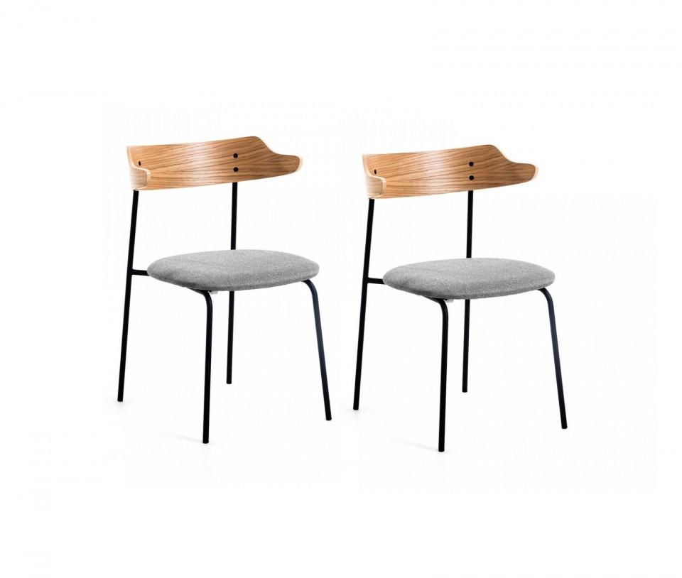 Set de 2 scaune Olympia, 75 x 52 cm