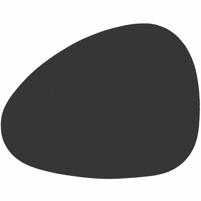 Set de 6 naproane, piele ecologica, negre poza chilipirul-zilei.ro
