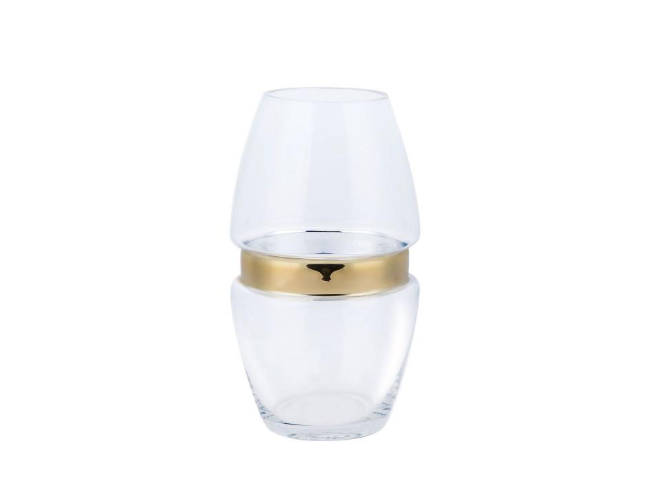 Vaza LECCO, sticla, 16 x 16 x 27 cm